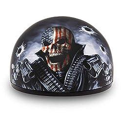 Daytona Helmets Motorcycle Half Helmet