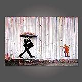 HHLSS Bilddrucke 50x70cm ohne Rahmen Poster Drucke Banksy