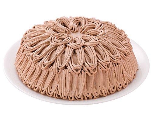 チョコモンブランケーキ 12カットタイプ 7号 21.0cm (約6〜12名) 誕生日ケーキ バースデーケーキ