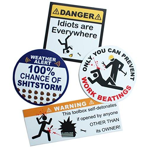 toolbox warning decals - 4