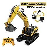 ZMH RC Toy Pelle Alliage Complet huina 580 Hydraulic Excavator 23CH 1:14 Jouet pour Les garçons de la Construction de Routes 2.4GHz Camion à Distance RC