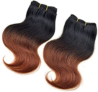 New Barroko Sew In Hair Extension Ombre Brazilian Hair Body Wave 4 Bundles 8