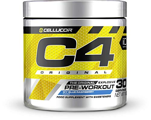 Cellucor C4 Original - Nahrungsergänzungsmittel Pre-Workout - Icy Blue Razz (Himbeere) - 30 Portionen