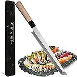 Waterboss,10.6 inch (270mm) Sakimaru Knife Japanese Sushi Chef Knife Salmon...