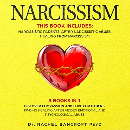 Narcissism: 3 in 1 audiobook cover art