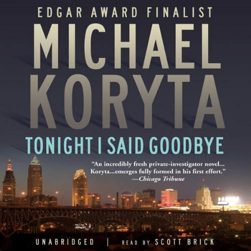 Tonight I Said Goodbye  audiobook cover art