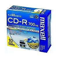 (まとめ) マクセル データ用CD-R 700MB ホワイトワイドプリンターブル 5mmスリムケース CDR700S.WP.S1P10S 1パック(10枚) 【×5セット】 AV デジモノ パソコン 周辺機器 その他のパソコン 周辺機器 top1-ds-1571899-sd5-ah [独自簡易包装]