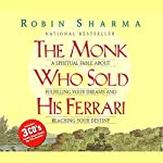 The Monk Who Sold His Ferrari                   Written by:                                                                                                                                 Robin Sharma                               Narrated by:                                                                                                                                 Robin Sharma                      Length: 2 hrs and 40 mins     367 ratings     Overall 4.6