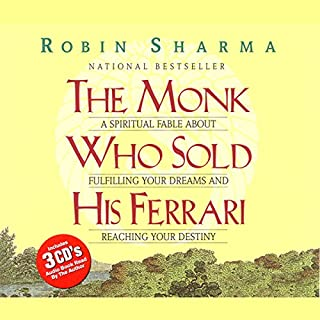 The Monk Who Sold His Ferrari                   Written by:                                                                                                                                 Robin Sharma                               Narrated by:                                                                                                                                 Robin Sharma                      Length: 2 hrs and 40 mins     303 ratings     Overall 4.6