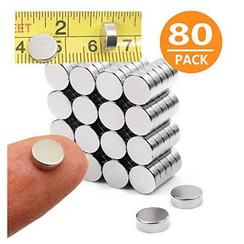 Deryun Fridge Magnet Round Magnets for Refrigertor Magnets MagnetOffice MagnetsArtampCraft MagnetsWhiteboard MagnetsMap MagnetsDurable Mini Magnets