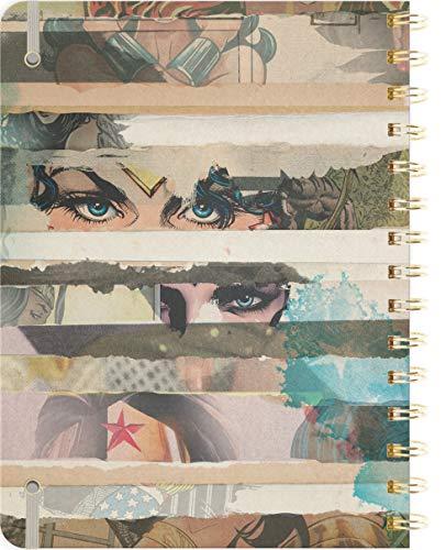 Wonder Woman Weekly Planner 2019 Set -- Deluxe Wonder Woman 2019 Weekly Monthly Planner with DateWorks Calendar Stickers (Spiral Bound, Hardcover; Wonder Woman Office Supplies) Photo #3