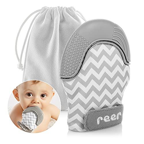 reer Zahnungsfäustling, tolle Zahnungshilfe fürs Baby, schnelle Hilfe zum Zahnen
