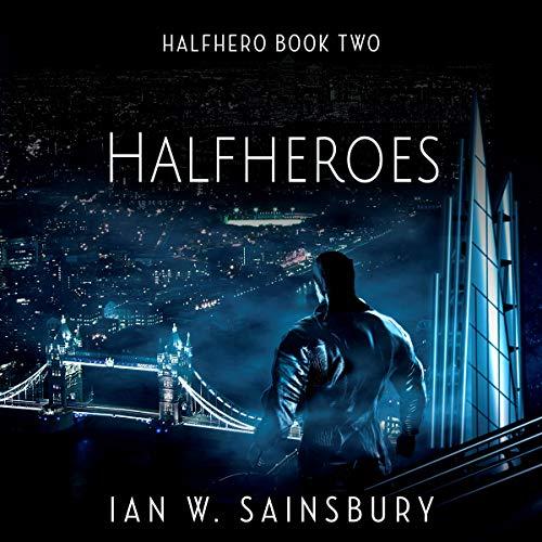 Halfheroes audiobook cover art
