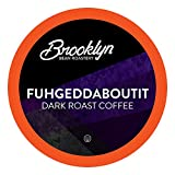 Brooklyn Beans Fuhgeddaboutit Gourmet Coffee Pods, Compatible with 2.0 Keurig K Cup Brewers, 40 Count