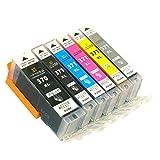 ハナマル良品 互換インクカートリッジ Canon(キャノン)BCI-371XL+BCI370XL 大容量 6色 マルチパック