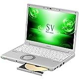 パナソニック 12.1型ノートPC Let's note レッツノート SV シルバー CF-SV7LDFPR [Office付き・Win10 Home・Core i5]