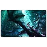 Warcraft142 – Alfombrilla de juego de mesa Wow de Warcraft de 60 x 35 cm World of Warcraft para Yugioh Pokemon MTG o TCG