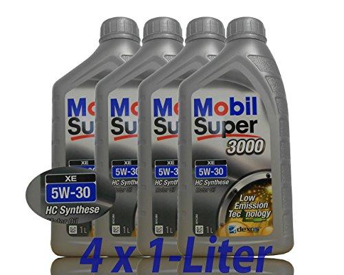 Mobil Super 3000 XE 5W-30 4x1 Liter