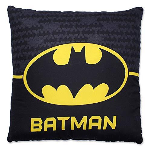 Little Flight - Cojín con diseño de Batman de Buffycats, tamaño del cojín cuadrado 40 x 40 cm