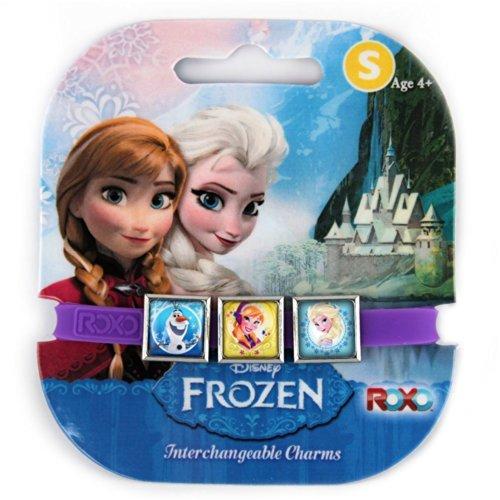 Toyland Elsa, Anna, et Olaf Disney Frozen interchangeables Charms Bracelet [Jouet]