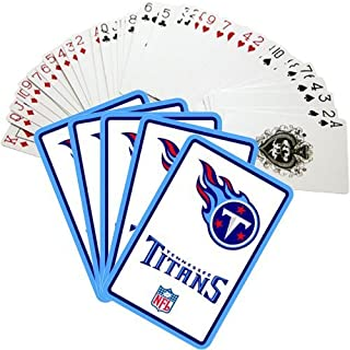 Hunter Tennessee Titans Vortex Playing Cards