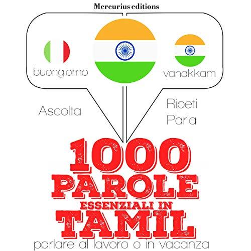 1000 parole essenziali in Tamil audiobook cover art