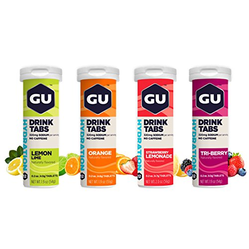 GU Hydration Drink Tabs, Mixed, 4 Count by GU Energy Labs
