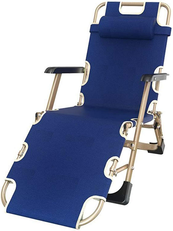 WENRIT® Faltbare Lounge-Sessel Bett Bett Zelt 178 x 66 x 25 cm blau B07J6TSDJ5   Ausgezeichnete Qualität