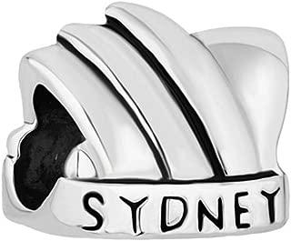 LovelyJewelry Australia Sydney Opera House Charms Beads For Bracelets