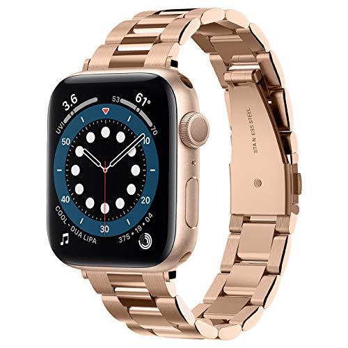 Spigen Modern Fit Compatible con Apple Watch Cinturino per 40mm/ 38mm Series 6/SE/5/4/3/2/1 - Oro Rosa