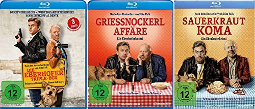 Eberhofer - 5 Filme Set ( Triple Box + Grießnockerlaffäre + Sauerkrautkoma) - Deutsche Originalware [5 Blu-rays]