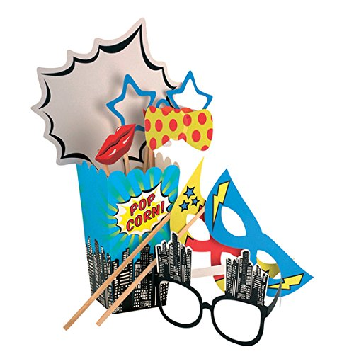 Kit Ginger Ray Pop Art Photo Booth Prop