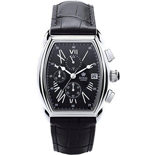 Royal London - Herrenchronograph - schwarz 41261-01
