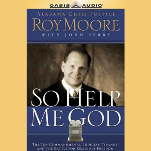 So Help Me God audiobook cover art