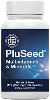 Pluseed, Men's Daily Health Multimineral Multivitamin Fertility Supplements, Perfect for Future Dads, Vitamin B6 B12 C D E...