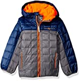 ZeroXposur Boys' Little Bluster Quilted Transitonal Jacket, Iron,...