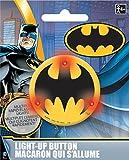 Batman Light-Up Button, Party Favor