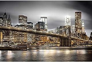 FFYUGO Adultes Puzzles en Bois, à New York Sky, célèbre Paysage De Ville, DIY500,1000,1500,2000,3000,4000,5000,6000 Pièce...