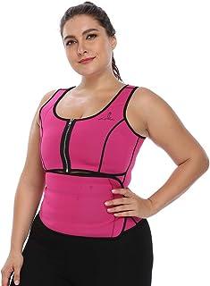 Joyshaper Sweat Waist Trainer for Women Weight Loss Sauna Effect Neoprene Sweat Vest Plus Size