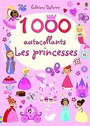activités aux urgences 1000 autocollants - Les princesses