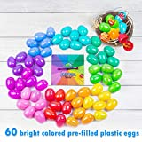 A fun-filled twist to the Classic Easter Egg Hunt - spin to see what color egg you need to find, roll the dice to see how many to bring back. Name Brand Premium Candy in 60 Brightly Colored Eggs. Traditional egg hunt is fun for all ages - the game ke...