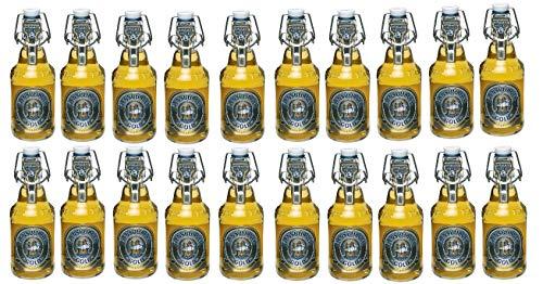 20 Flaschen Flensburger Gold das milde Bügelflaschen inc. 3.00€ MEHRWEG Pfand 4,8% Vol. Ploppverschluß ohne Rahmen