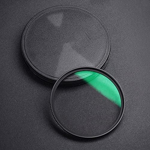 TTSJSM Filtro UV,Filtro Polarizador 1/4 1/8 Filtro de Lentes Filtro Efectos Especiales Disparar Video Like Películas 49mm 52mm 58mm 62mm 67mm 77mm 82mm (Caliber : 58mm, Color : 0.87 Transmittance)