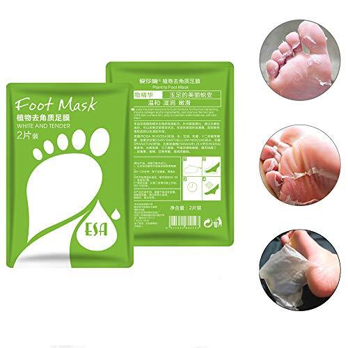 LCJDD Baby Feet Foot Peel Socken, Peeling Fuß Peel Maske für weiche Füße Fußpeeling Maske für trockene Tote Haut rissige Ferse in 7 Tagen (3 Paare)