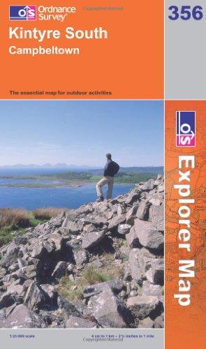 OS Explorer map 356 : Kintyre South