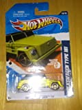 HOT WHEELS 2011 FASTER THAN EVER 10/10 GREEN VOLKSWAGEN TYPE 181 150/244