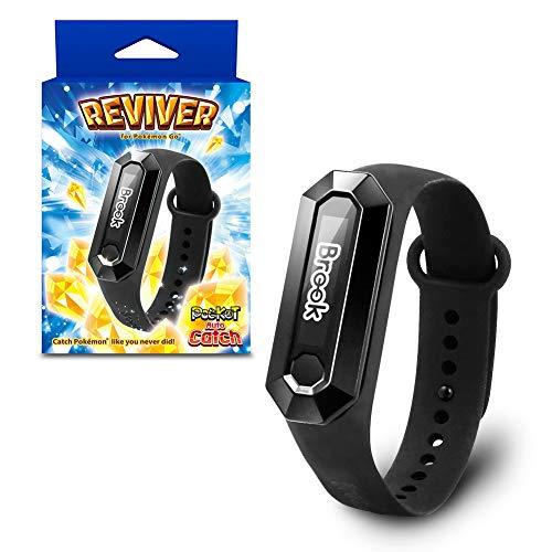 Muñequera táctil LED «Pocket Auto Catch REVIVER 2020» para Pokémon Go (alternativa para Go Plus | Impermeable y a prueba de polvo, desarrollada por Datel y fabricada por Brook)