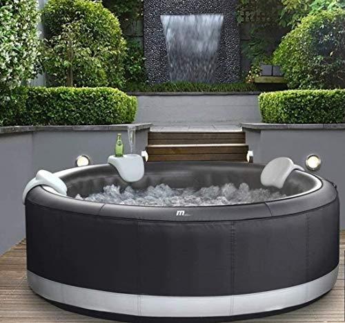 DEKO VERTRIEB BAYERN XXXL Luxus Premium SPA Whirlpool aufblasbar Outdoor Indoor Pool Heizung 6 Pers. MSPA Neustes Modell 2021 - Mallorca Feeling pur