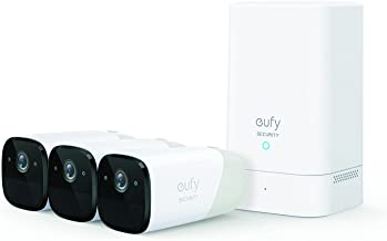 Eufy Security by Anker eufyCam 2 Pro Wireless Home Security Camera System, 365-Day Battery Life, HomeKit Compatibility, 2K...