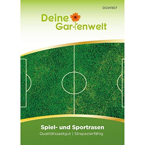 Spiel- und Sportrasen 45 g Samen   Nachsäpackung für 1,5 m²   Spielrasen   Rasensamen   Rasen Saatgut   Grassamen